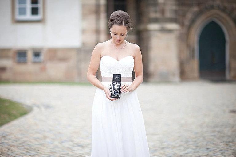 Traumhochzeit in Hildesheim und Hannover, schöne Braut